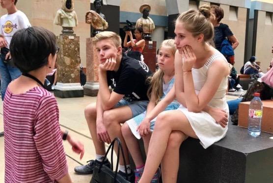 Ольга Кукса экскурсии для детей в Париже